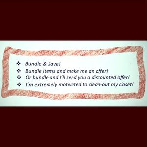 Other - Bundle and make an offer! 🙌🙌